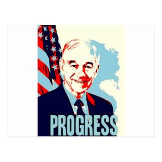 Ron Paul Progress Postcard