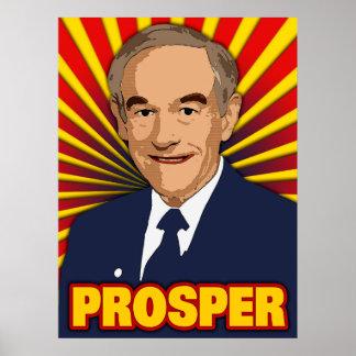 Ron Paul Prosper Poster