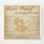 Ron Paul Quotes A Message Of Freedom Mousepad
