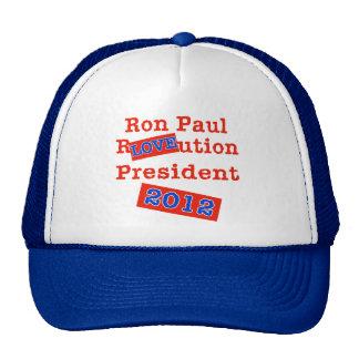 Ron Paul R LOVE ution! Revolution 2012! Trucker Hat