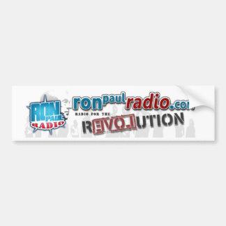 Ron Paul Radio Bumper Sticker