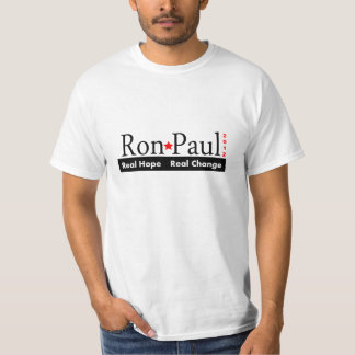 Ron Paul - Real Hope Real Change 2012 T-Shirt