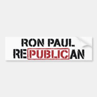 Ron Paul Republican Bumper Sticker