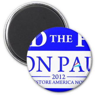 Ron Paul Restore America Now Banner Magnet