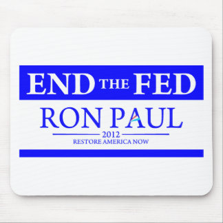 Ron Paul Restore America Now Banner Mouse Pad