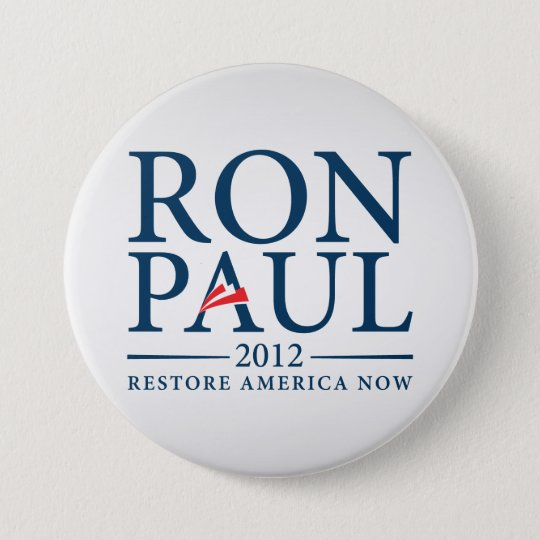Ron Paul Restore America Now Button