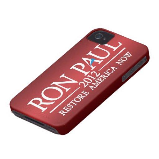 Ron Paul - Restore America Now iPhone 4 Case