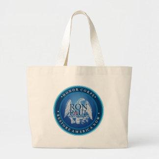 Ron Paul Restore America Now Large Tote Bag