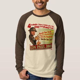 Ron Paul Retro Look Design T-Shirt
