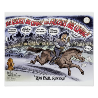 Ron Paul Revere Poster