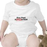 ron-Paul-revolución Trajes De Bebé