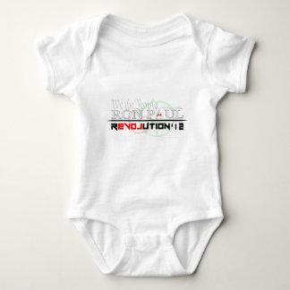 Ron Paul Revolution '12.png Baby Bodysuit