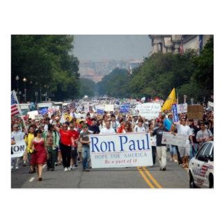 Ron Paul Revolution 2007 Historic Photo Postcard