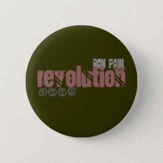 ron paul, revolution, 2008 button