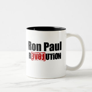 Ron Paul Revolution 2012 :: $17.95 Two-Tone Coffee Mug