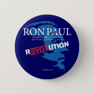 Ron Paul Revolution 2012 Button