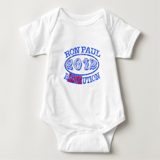 Ron Paul REVOLUTION 2012 Campaign Gear Baby Bodysuit