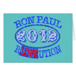 Ron Paul REVOLUTION 2012 Campaign Gear Card