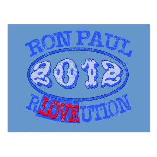 Ron Paul REVOLUTION 2012 Campaign Gear Postcard