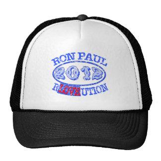 Ron Paul REVOLUTION 2012 Campaign Gear Trucker Hat