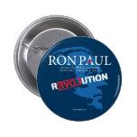 Ron Paul Revolution 2012 Pinback Button