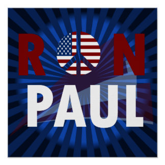 Ron Paul Revolution 2012 Poster