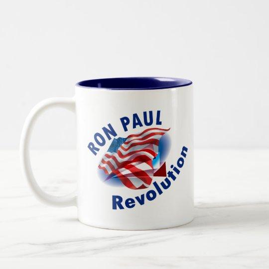 Ron Paul Revolution 2012 Two-Tone Coffee Mug