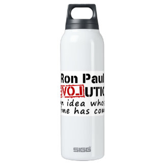 Ron Paul rEVOLution An Idea Whose Time Has Come 16 Oz Insulated SIGG Thermos Water Bottle