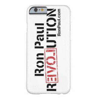 Ron Paul Revolution Barely There iPhone 6 Case