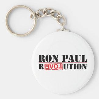 Ron Paul Revolution Basic Round Button Keychain