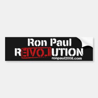 Ron Paul Revolution Bumper Sticker Car Bumper Sticker