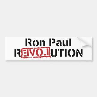Ron Paul Revolution Bumper Sticker