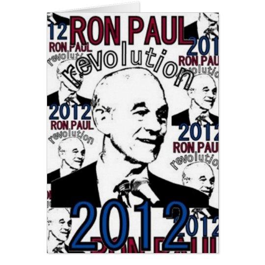 Ron Paul Revolution Card