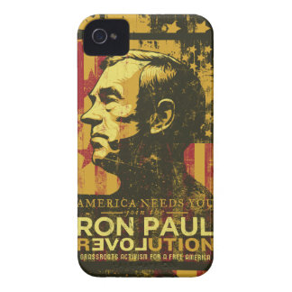 Ron Paul revolution Case-Mate Case iPhone 4 Cases