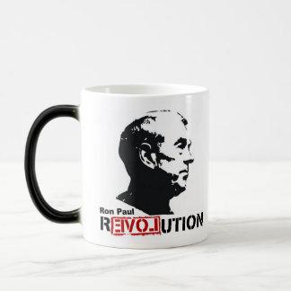 Ron Paul Revolution Coffee/Tea Cup/Mug 11 Oz Magic Heat Color-Changing Coffee Mug