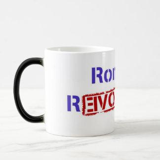 Ron Paul Revolution Coffee/Tea Mug/Cup 11 Oz Magic Heat Color-Changing Coffee Mug