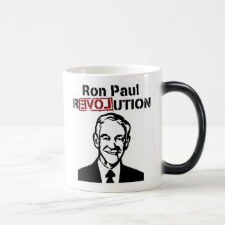 Ron Paul Revolution Coffee/Tea Mug/Cup Magic Mug
