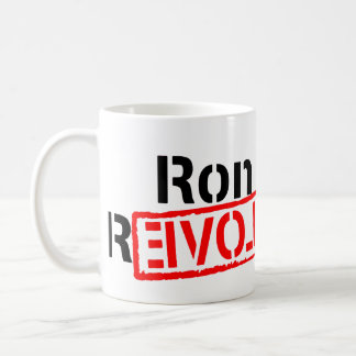 Ron Paul Revolution Continues Coffee Mug