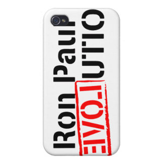 Ron Paul Revolution Continues Cover For iPhone 4