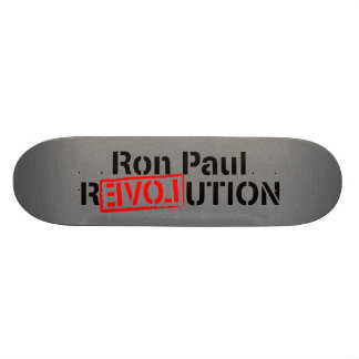 Ron Paul Revolution Continues Skateboard Deck