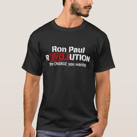 Ron Paul Revolution Customizable T-Shirt