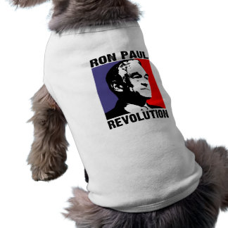Ron Paul Revolution Dog Clothes