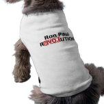 Ron Paul Revolution Dog Shirt