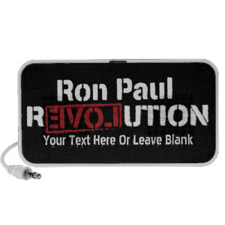 Ron Paul Revolution Doodle Portable Speaker