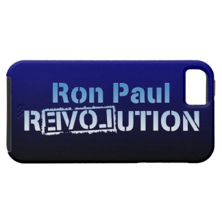 Ron Paul rEVOLution Electric Blue Logo iPhone 5 Covers