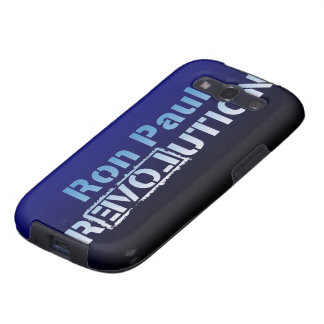 Ron Paul rEVOLution Electric Blue Logo Samsung Galaxy S3 Cover