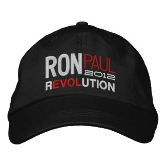 Ron Paul Revolution Embroidered Baseball Cap