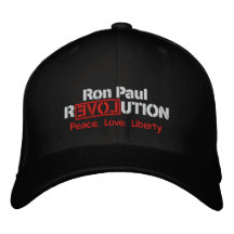 Ron Paul Revolution Embroidered Hat