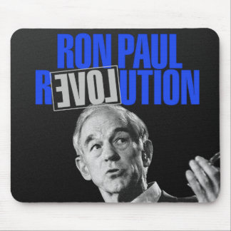 Ron Paul Revolution, For President 2012 Mouse Pad