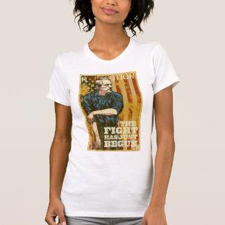 Ron Paul Revolution Has Just Begun T-Shirt